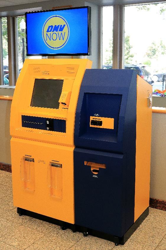 Image of DMV now kiosk
