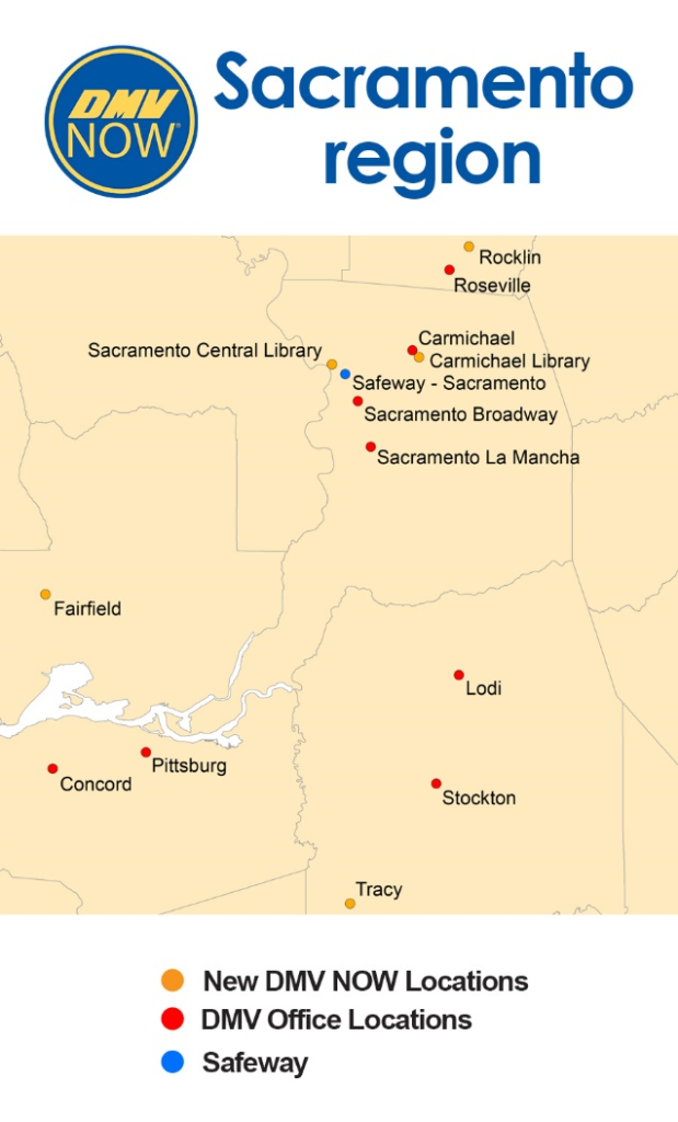 Map of the Sacramento Region SST locations